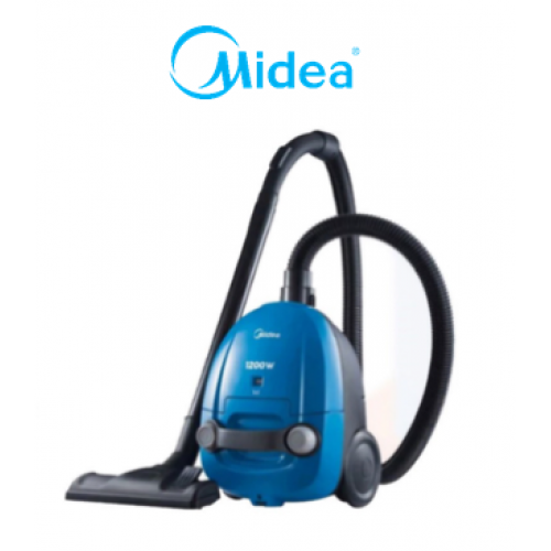 MIDEA 180 W SUCTION - 1.0 L BAGGED VACUUM CLEANER MVC-C1211S-BL