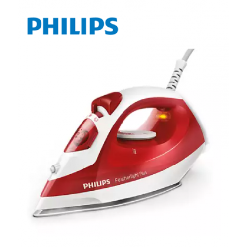PHILIPS 1400 W Featherlight Plus Steam iron with non-stick soleplate GC1424/40