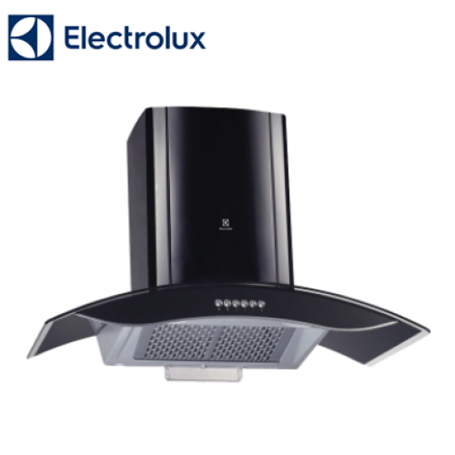 "ELECTROLUX 1100 m³/hr - 36"" / 90cm Curved Glass Chimney Hood with Auto Clean Function EFC922GAK"