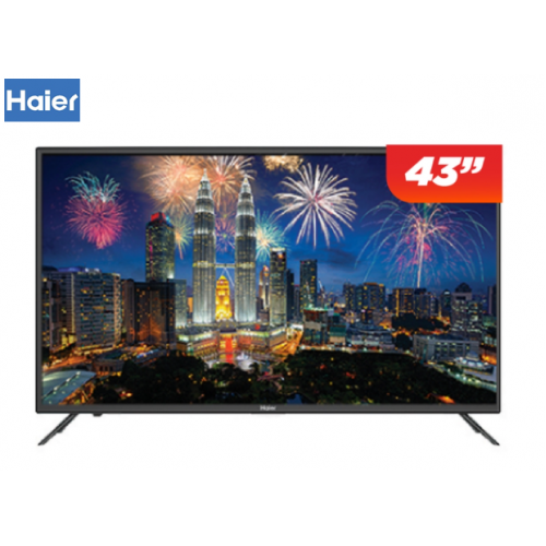"HAIER 43"" FHD LED TV LE43K6500A - SMART TV, SMART SHARE, HDMI X3"