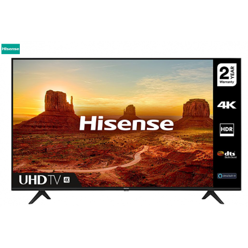 "HISENSE 55"" 4K UHD LED SMART TV 55A7100F 3 YEARS WARRANTY"