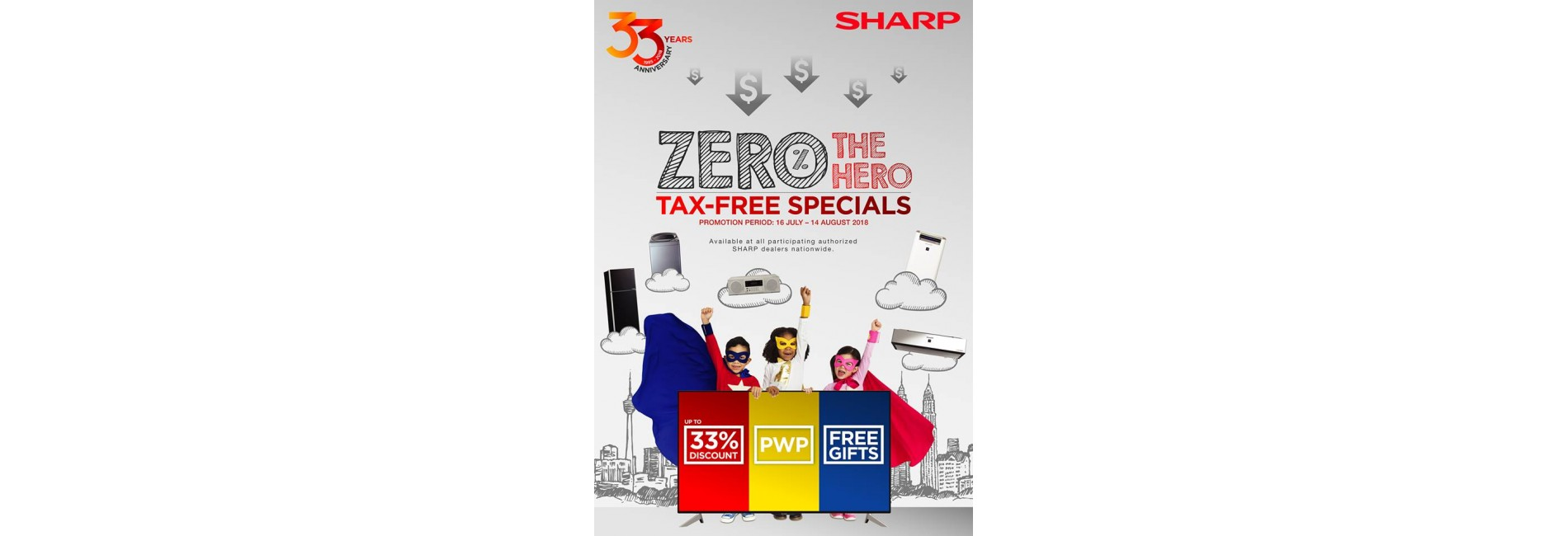 sharp zero tax front page